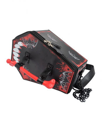 Vampire coffin handbag