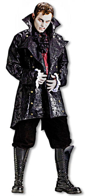 Vampire Jacket With Frill Cuffs