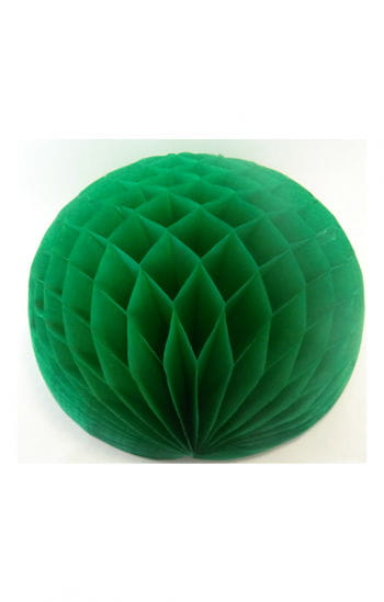 Honeycomb ball green