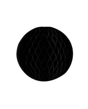 Honeycomb ball black 20 cm