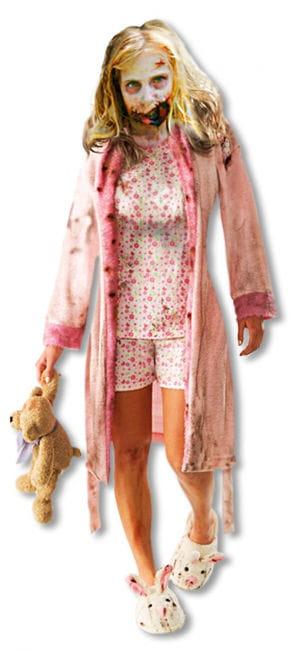 The Walking Dead Zombie Girl Kostüm