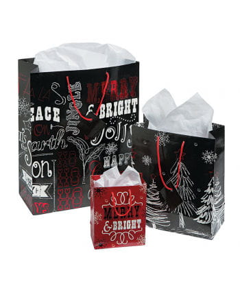 Christmas bags 12 St.