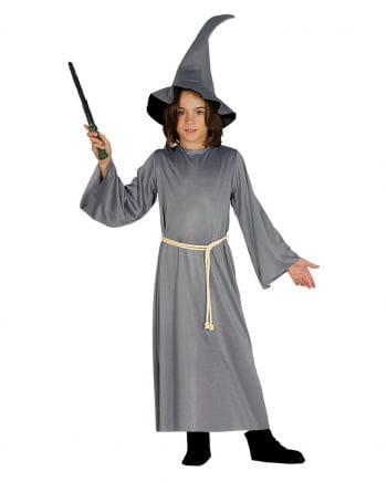 Fantasy wizard costume with hat