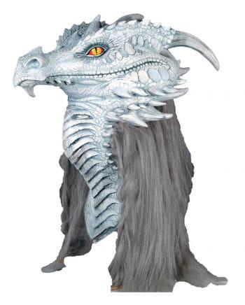 Ancient Drachenmaske Weiß