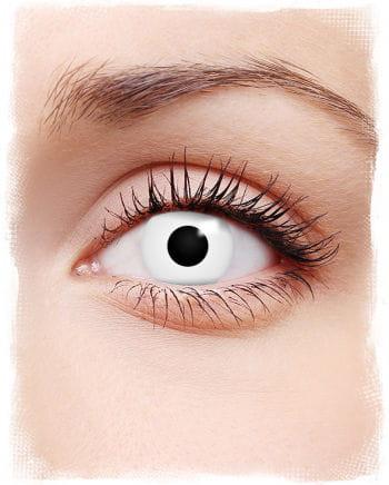 Zombie Kontaktlinsen weiß
