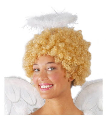 White angel halo