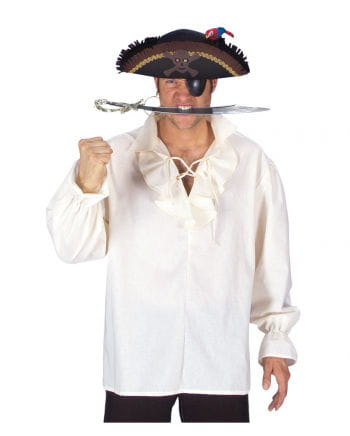 Pirate shirt with ruffled collar