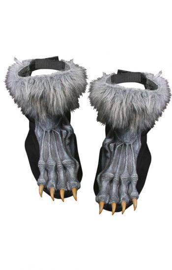 Werwolf Füße grau