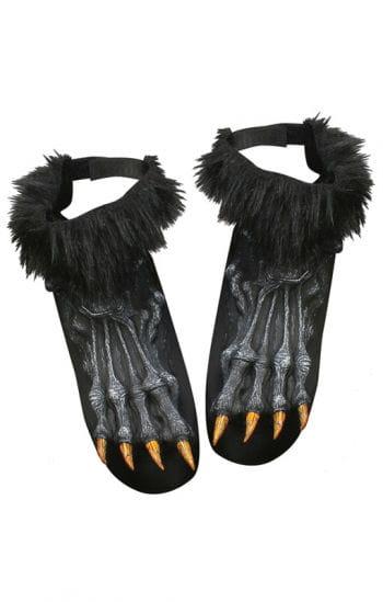Werwolf Füße schwarz