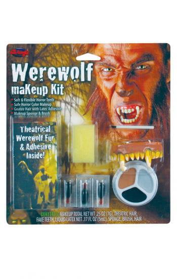 Komplett Make Up Kit Werwolf