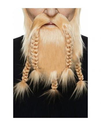 Wikinger Kombi Bart rotblond