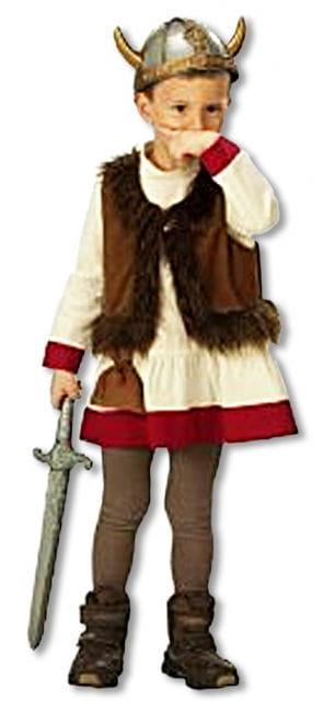 Wikinger Kostüm für Kinder 104 104