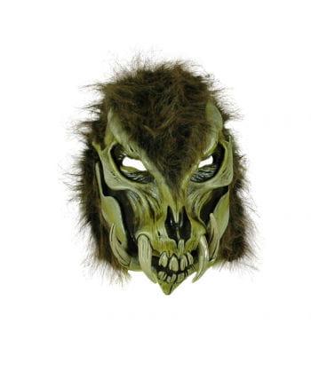 Wildes Biest Latex-Maske