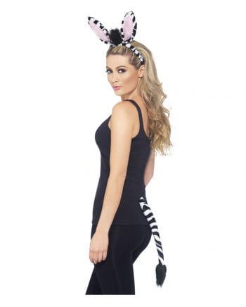 Zebra Kostüm Party-Set