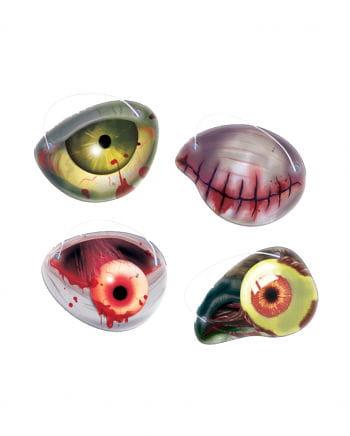 Zombie Augenklappenset 12-teilig