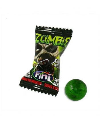 Zombie candy with chewing gum