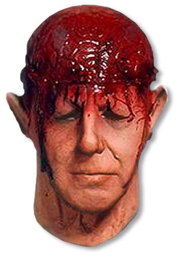 Zombie Braindead Foamlatex mask