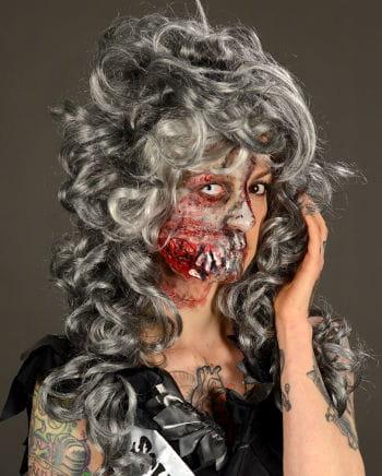 Zombie cheekbone wound