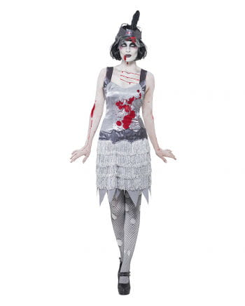 Zombie Flapper costume for women