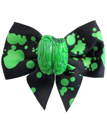 Kreepsville zombie brain hair bow