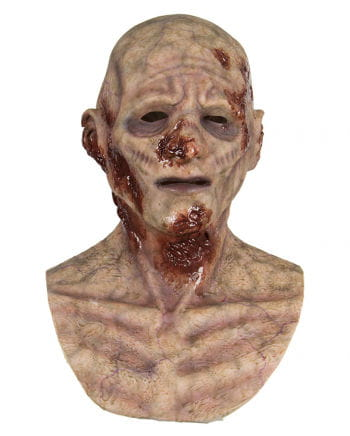 Lacerations Zombie silicone mask