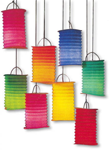 Paper Lanterns Multicoloured 10 PCS