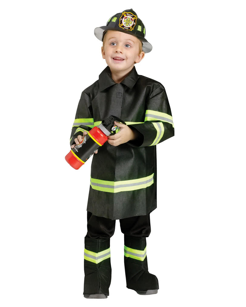 feuerwehrman kinderkost m firefighter uniform f r jungs horror. Black Bedroom Furniture Sets. Home Design Ideas