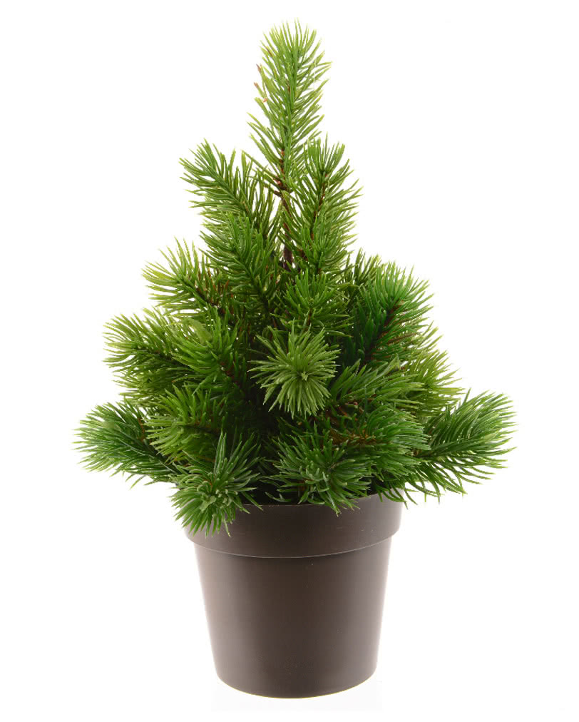 fir tree in pot artificial tree as christmas decoration. Black Bedroom Furniture Sets. Home Design Ideas