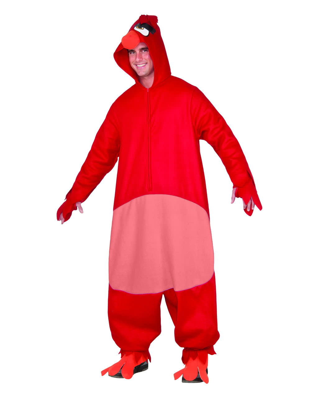 roter angry birds red onsie overall bestellen horror. Black Bedroom Furniture Sets. Home Design Ideas