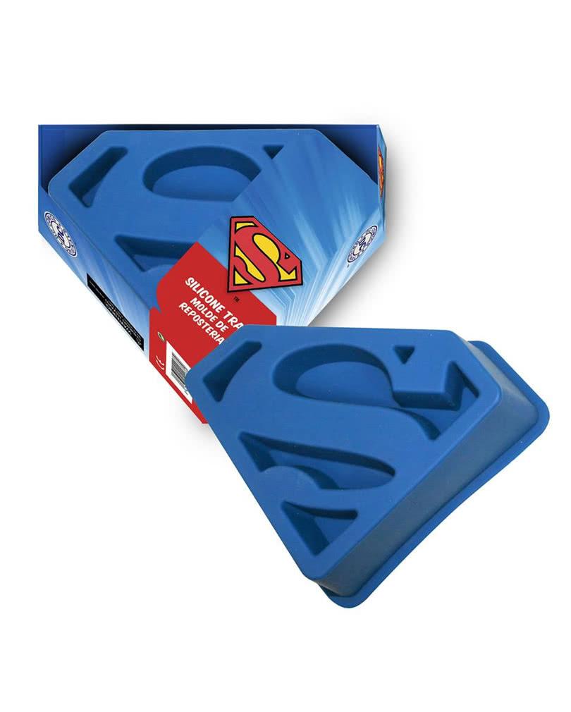 silikon backform superman logo superman lizenzartikel horror. Black Bedroom Furniture Sets. Home Design Ideas