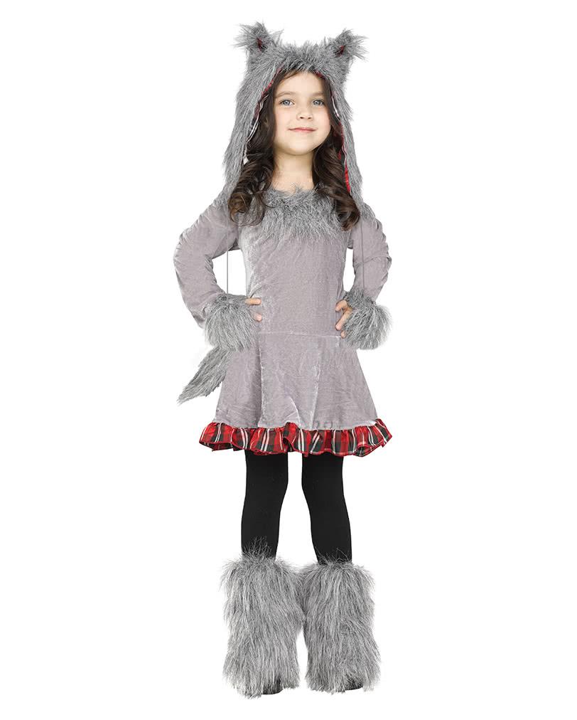 wolf kost m f r kleinkinder halloween verkleidung. Black Bedroom Furniture Sets. Home Design Ideas