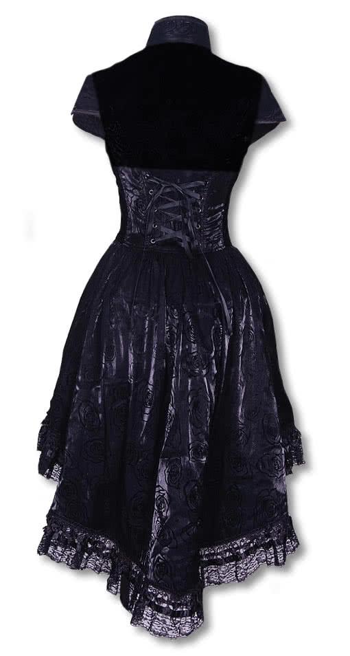 romantisches kleid mit bolero gothic kleider horror. Black Bedroom Furniture Sets. Home Design Ideas