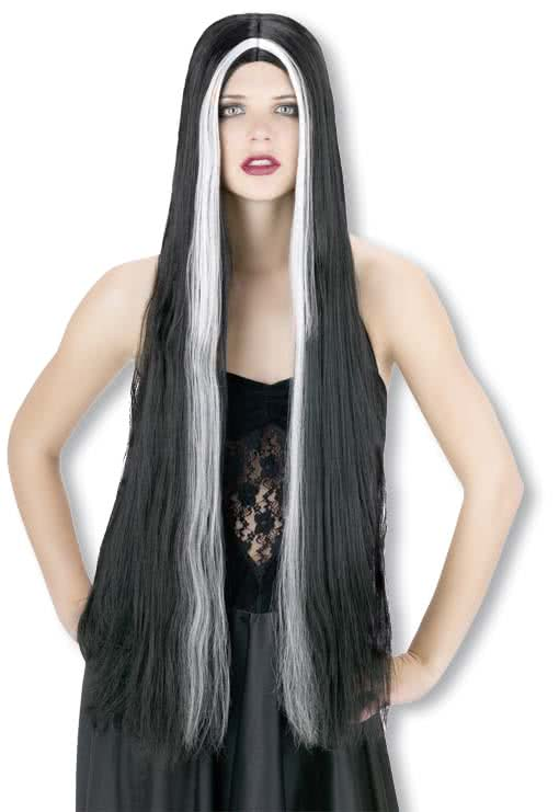 Pictures of black hair with white streaks the best black hair 2017 platinum blonde with black highlights white hair vanessa bryant s long wavy hairstyle with platinum highlights pmusecretfo Images