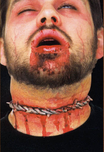 barbed wire wound Special FX Wounds Latex | horror-shop.com