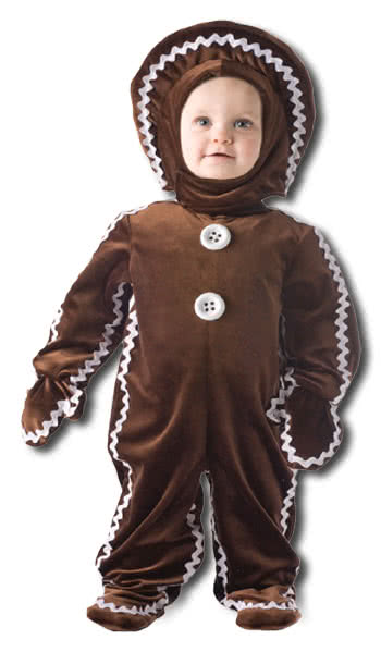 Delicious gingerbread man costume Small  sc 1 st  Horror-Shop.com & Delicious gingerbread man costume Small | Kids Costume | horror-shop.com