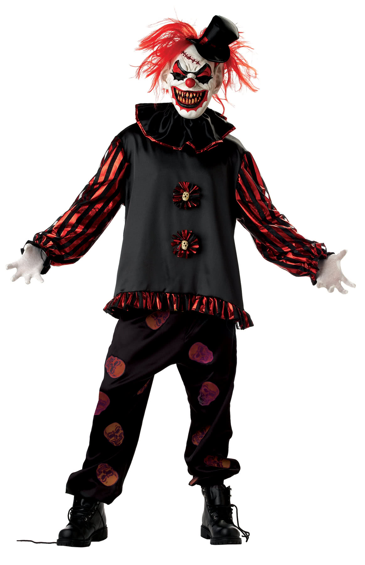 Slasher the Clown Costume Horror clown costumes with mask   horror ...