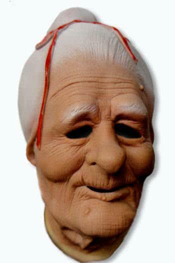 Granny Latex Maske Grossmutter Oma Maske Horror Shop Com