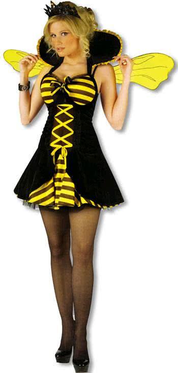 Bienenkönigin Kostüm Ml Für Fasching Horror Shopcom