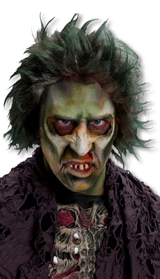 Grune Zombie Manner Perucke Im Polybeutel Fasching Karneval