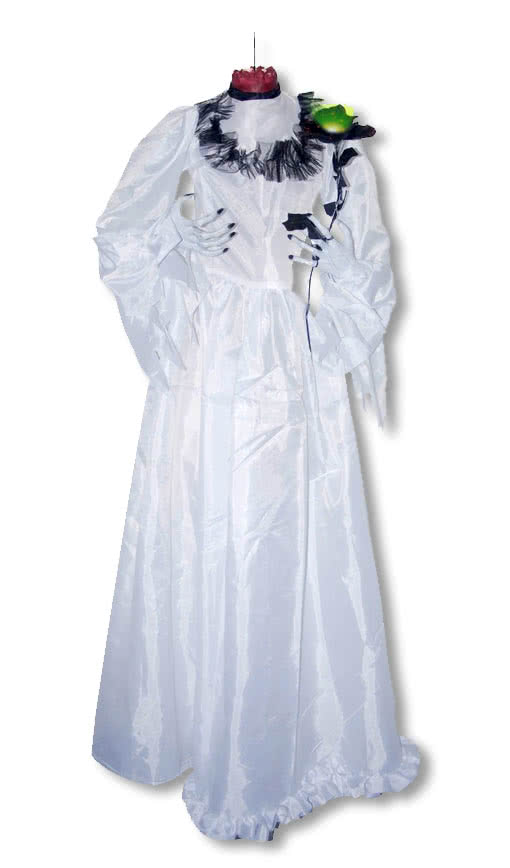 Headless Bride Hanging Figure | Horror decoration | horror-shop.com