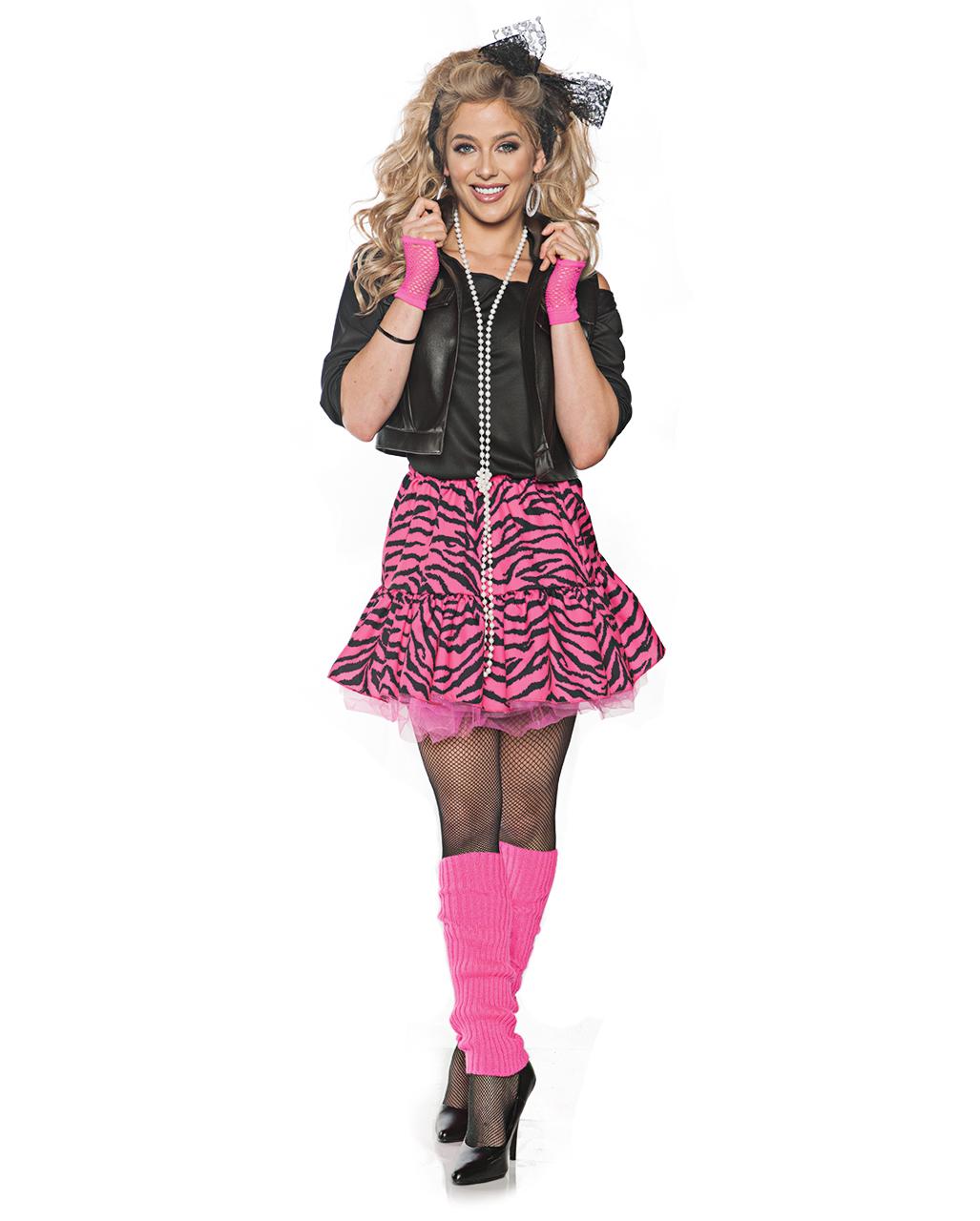 61523753eeb2 80s Pop Star Diva Costume for Carnival   Mottofete