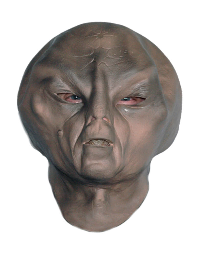 Alien Foam Latex Mask Deluxe Extraterrestrial Latex Mask From Outer