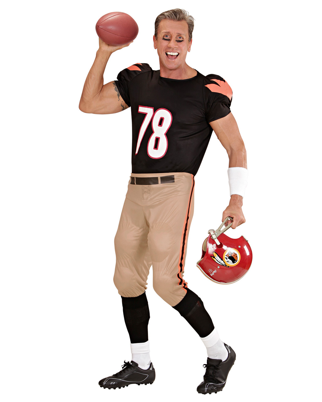 American Football Player Costume | Carnival & Motto Party | horror ...