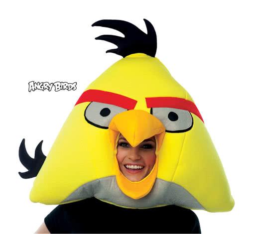 Angry Birds mask yellow -Angry Birds Yellow Bird Bird Costume ... 00d0ce6f23f8