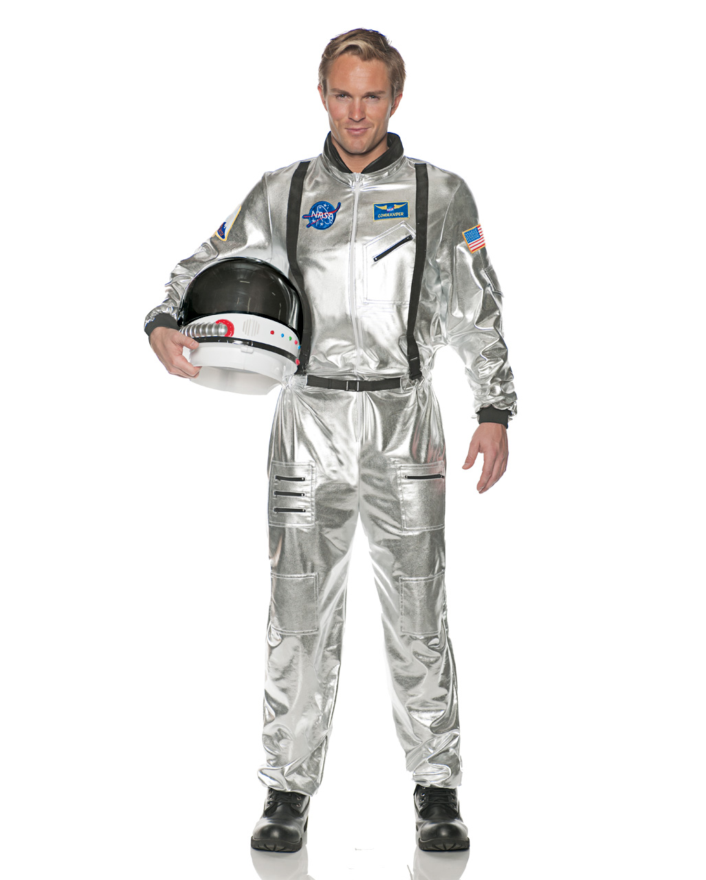 7ab405780b57 Astronauts Men Costume silver Space Fairing