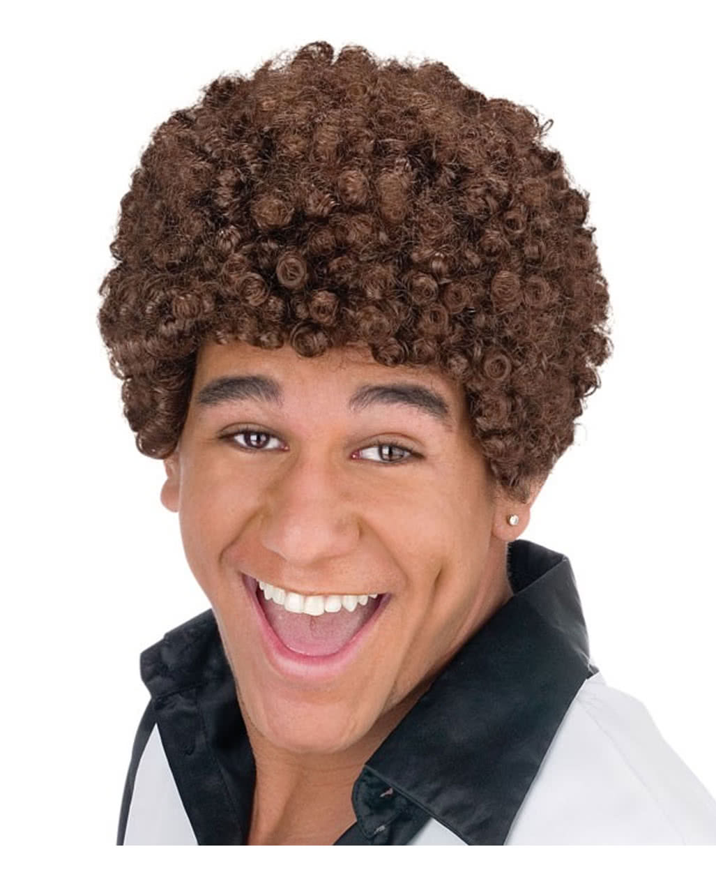 Atze Wig Brown Funny Curly Wig For Men Horror Shopcom