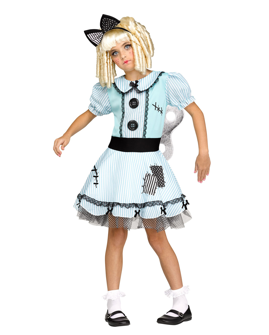 wind up doll girl costume for halloween | horror-shop
