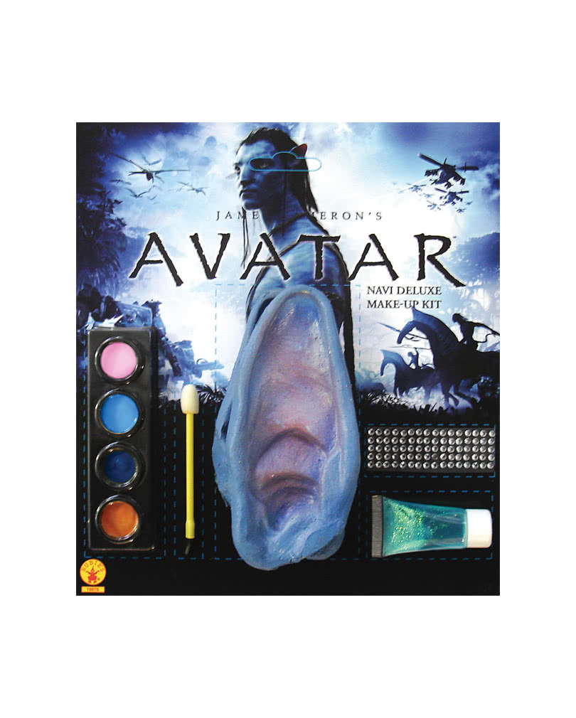 Avatar Make Up Set Mit Ohren Im Online Shop Bestellen Horror Shop Com