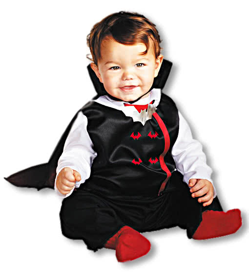 Baby V&ire Costume  sc 1 st  Horror-Shop.com : baby vampire halloween costumes  - Germanpascual.Com