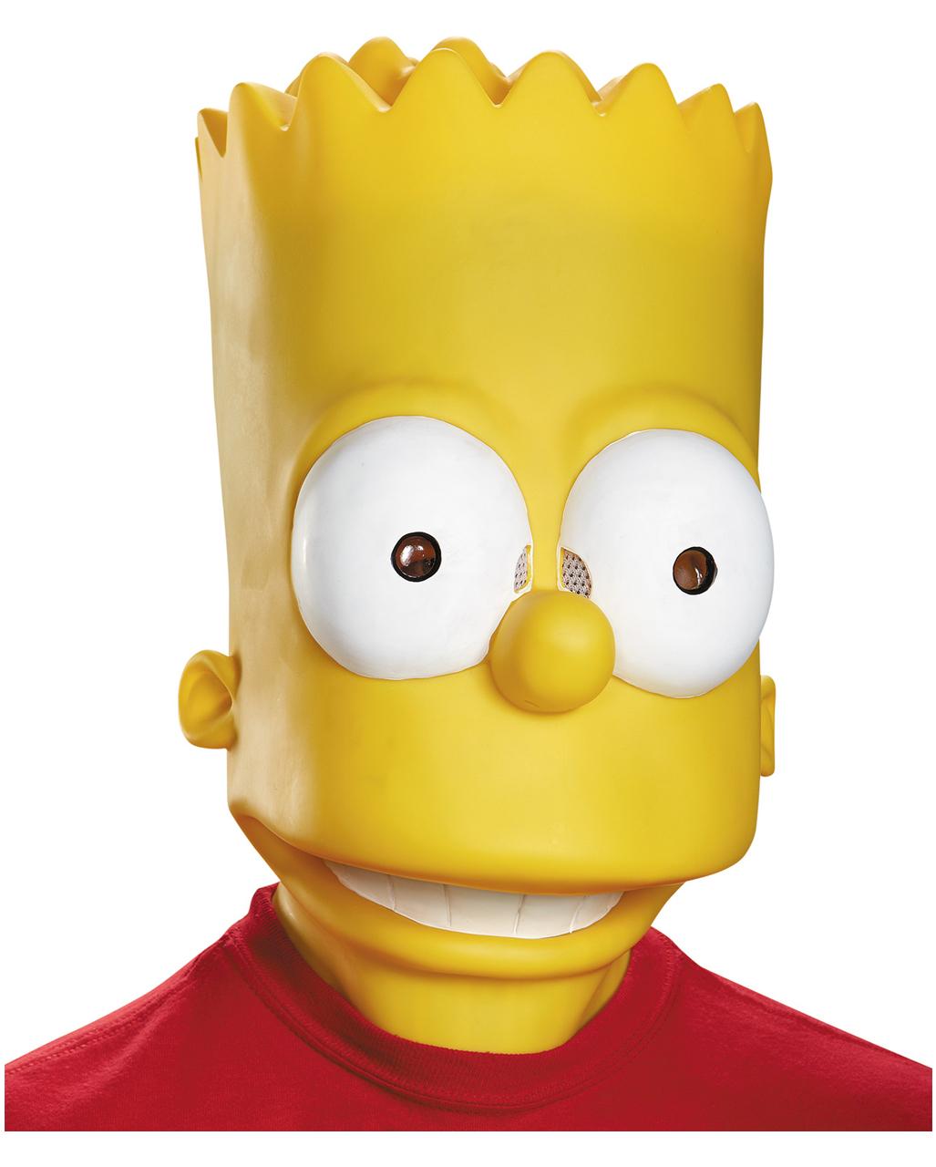 Bart Simpson Maske Faschings Maske Horror Shop Com